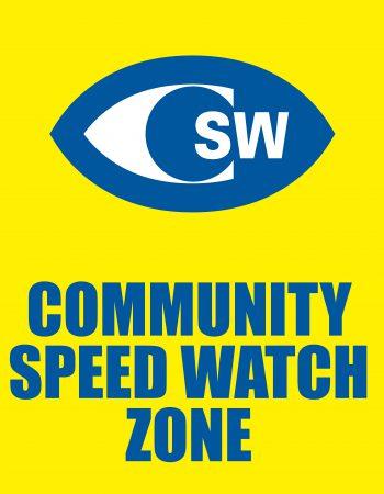 Community speed watch zone