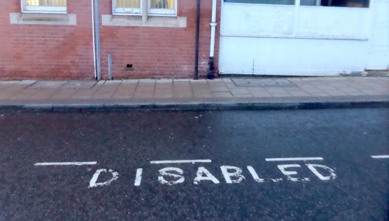 disabled bay